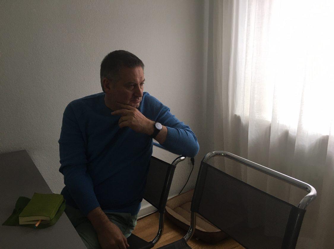 Георги Господинов си е вкъщи